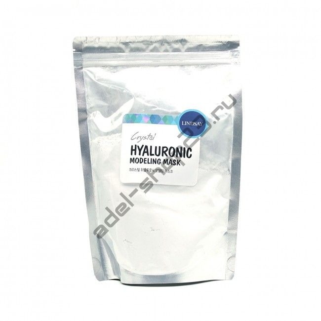 LINDSAY - Альгинатная маска для лица с гиалурованной кислотой Premium Hyaluroniс Modeling Mask Pack 240 г