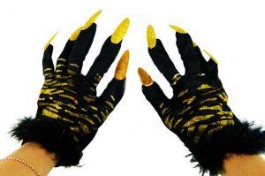 Перчатки тигрицы