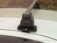 Багажник на крышу Nissan Almera Classic, Lux, прямоугольные стальные дуги