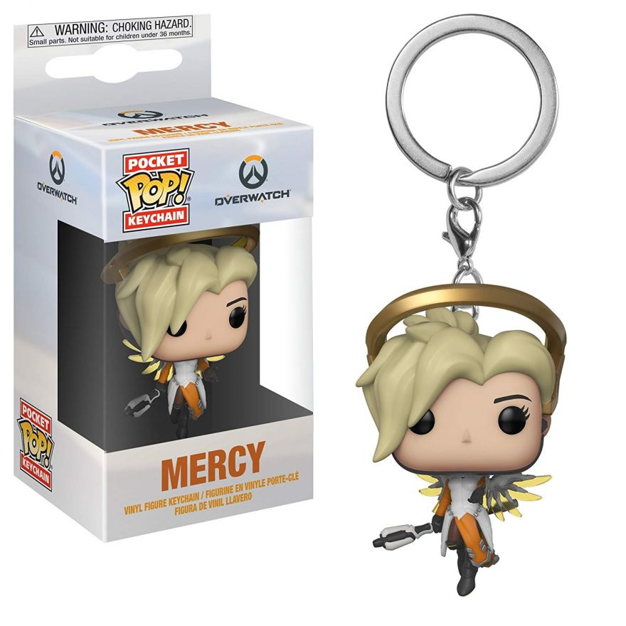Брелок Funko Pocket POP! Keychain: Overwatch: Mercy 31748-PDQ