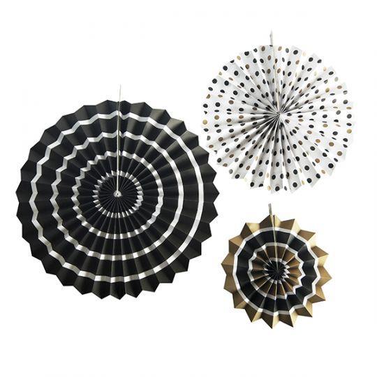 Набор из 3 фантов Черное ассорти