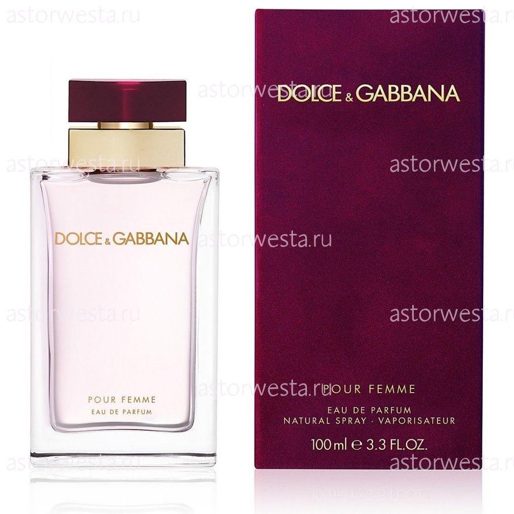 Парфюмерная вода Dolce & Gabbana Pour Femme, 100 мл (ПОД ЗАКАЗ)