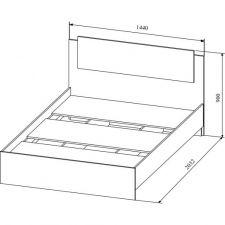 Кровать Софи (140*200см)