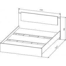 Кровать Софи 160*200см