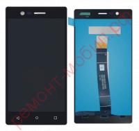 Дисплей для Nokia 3 ( TA-1020 / TA-1028 / TA-1032 / TA-1038 ) в сборе с тачскрином