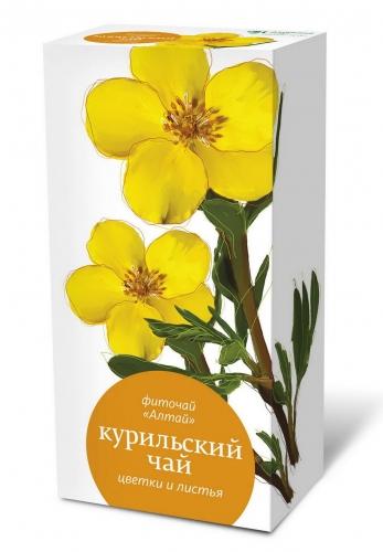 Фиточай «Алтай» «Курильский чай. Цветки и листья»
