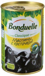 Маслины Bonduelle с косточкой, 300г