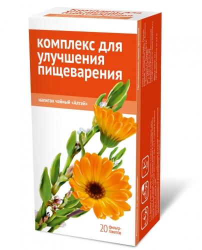 Напиток чайный «Комплекс для улучшения пищеварения»