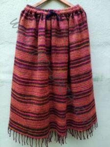 NEW! Длинная тёплая полосатая юбка (СПб)