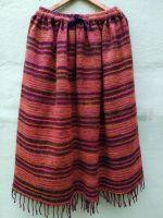 Длинная тёплая шерстяная юбка в пол. Купить в интернет магазине