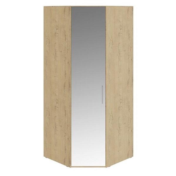 Шкаф угловой «Николь» с зеркальной дверью