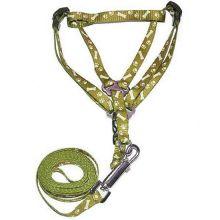 Поводок со шлейкой для кошек и собак Dog Chain, Хаки