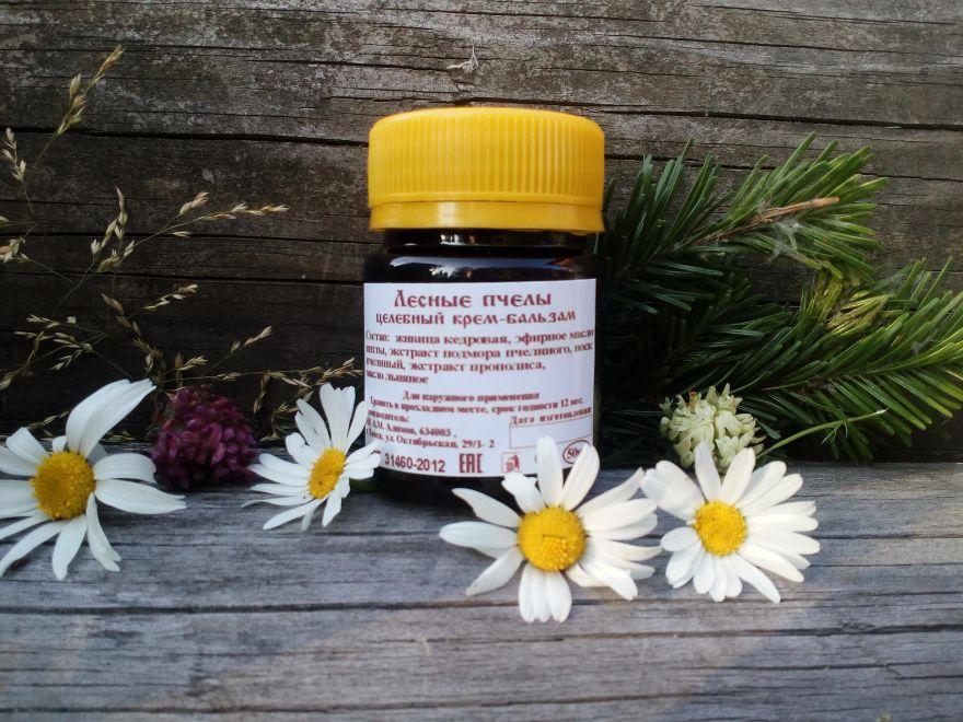 """Целебный бальзам «Лесные пчелы» The healing balm """"Lesnie Pcholy"""""""
