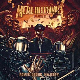 """METAL ALLEGIANCE """"Volume II: Power Drunk Majesty"""""""