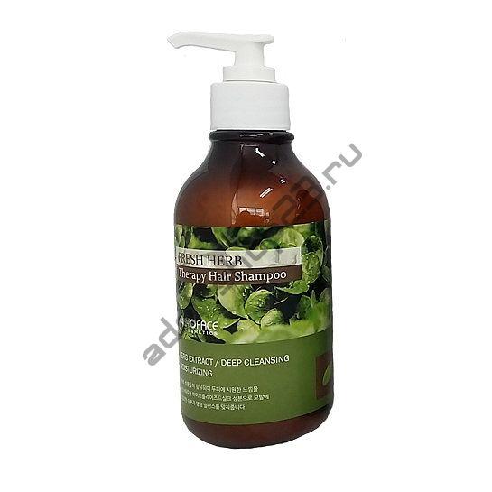 INOFACE - Лечебный шампунь для волос с настоем целебных трав Fresh herb Shampoo300ml