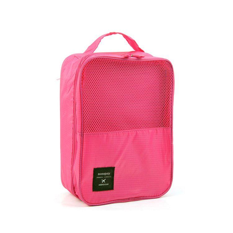 Органайзер для обуви TRAVEL SERIES-SHOES POUNCH, цвет розовый