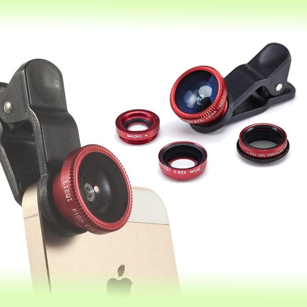 Набор фотообъективов на сматрфон Universal Clip Lens