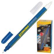 """Ручка капиллярная """"No Problem"""", двусторонняя, """"пиши-стирай"""", синие чернила (арт. 41425)"""