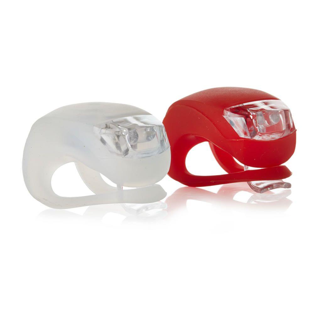 Фонари велосипедные силиконовые LED Light Set, 2шт