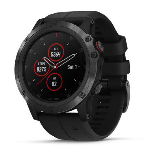 Часы Garmin Fenix 5X Plus Sapphire Black