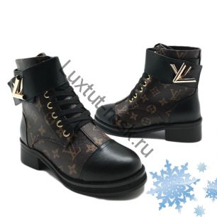 Ботинки Louis Vuiiton с мехом