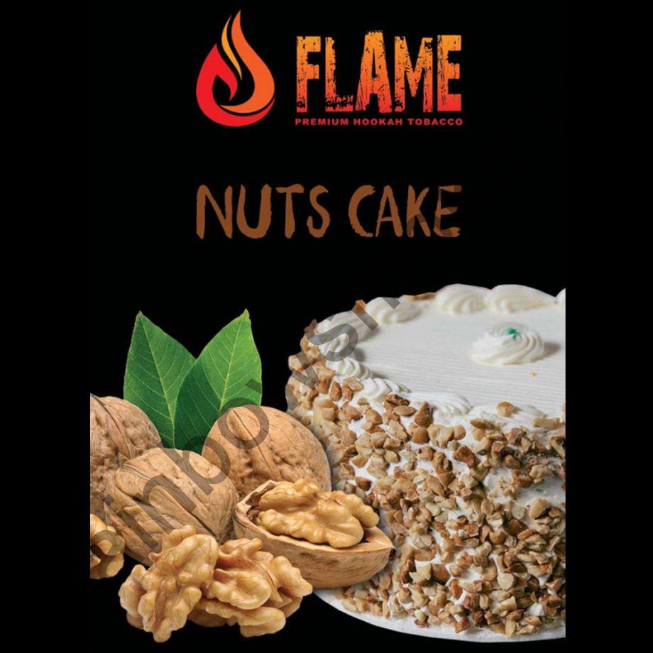 Flame 100 гр - Nuts Cake (Ореховый Торт)