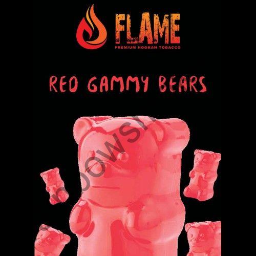 Flame 100 гр - Red Gummy Bears (Красные Мишки Гамми)