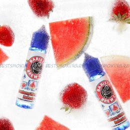 Е-жидкость Barista Brew Frozen Strawberry Watermelon Refresher, 60 мл.