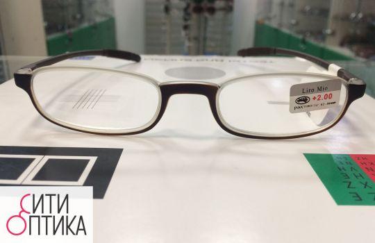 Карбоновые  готовые очки . Лектор.  Liro Mio M 86002
