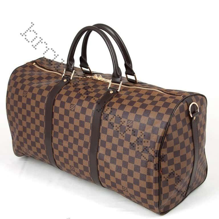 "Сумка Louis Vuitton ""Keepall"" Damier Ebene"