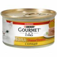 Gourmet Gold Нежная начинка Курица конс д/кош 85 г
