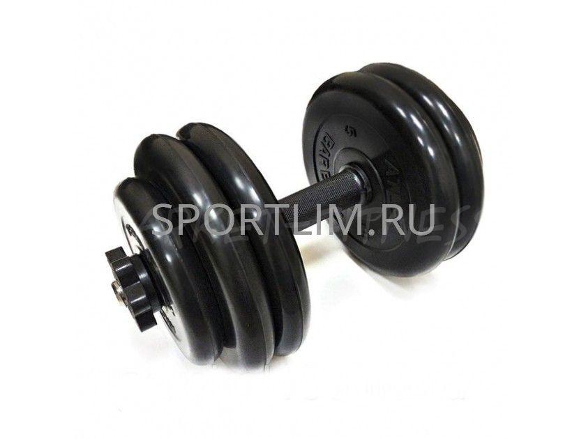 Гантель MB Barbell Atlet d.31мм 27.5 кг