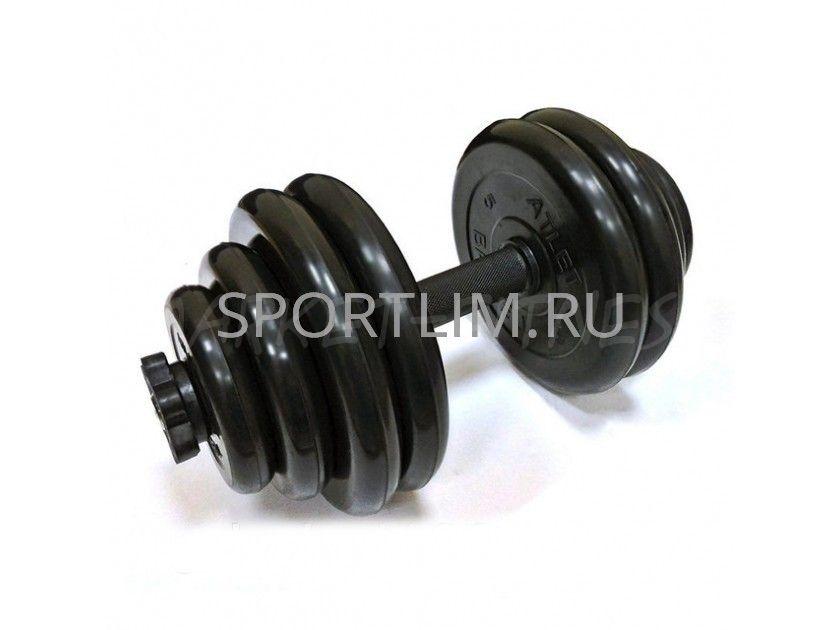Гантель MB Barbell Atlet d.31мм 30 кг