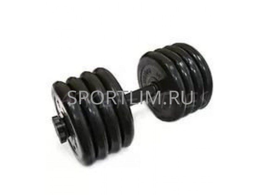 Гантель MB Barbell Atlet d.31мм 42.5 кг