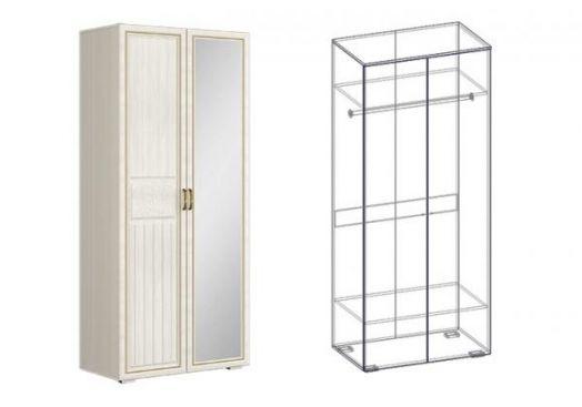 "Шкаф 2х створчатый левый/правый (540) ""Виктория"""