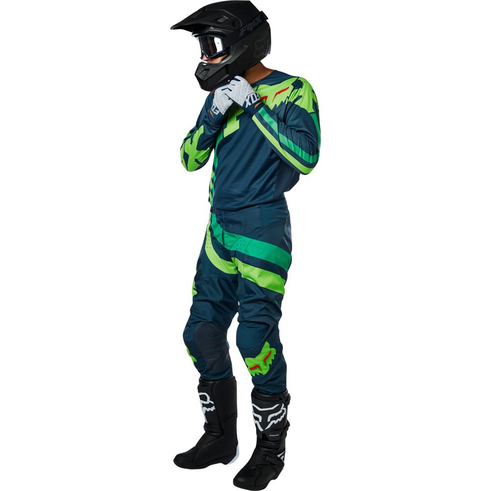 Fox - 2019 180 Cota Navy комплект джерси и штаны, темно-синие