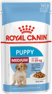 Royal Canin Medium Puppy соус пауч д/щен 140 г