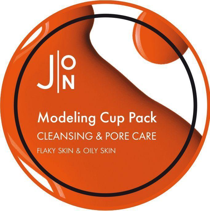 [J:ON] Альгинатная маска ОЧИЩЕНИЕ И СУЖЕНИЕ ПОР CLEANSING & PORE CARE MODELING PACK