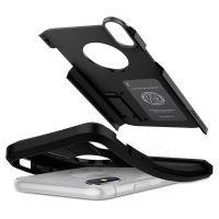 Купить противоударный чехол SGP Spigen Tough Armor для iPhone XR чёрный