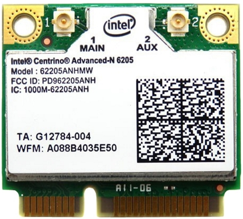 Wi-Fi адаптер Intel 62205ANHMW