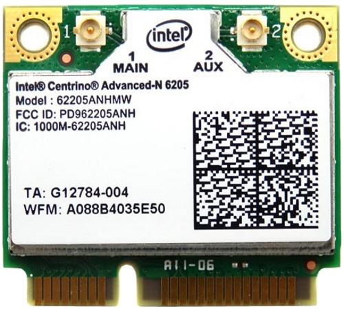 Wi-Fi адаптер Intel 62205ANHMW