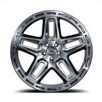 Shadow Chrome With Diamond Outer - 9.5*22