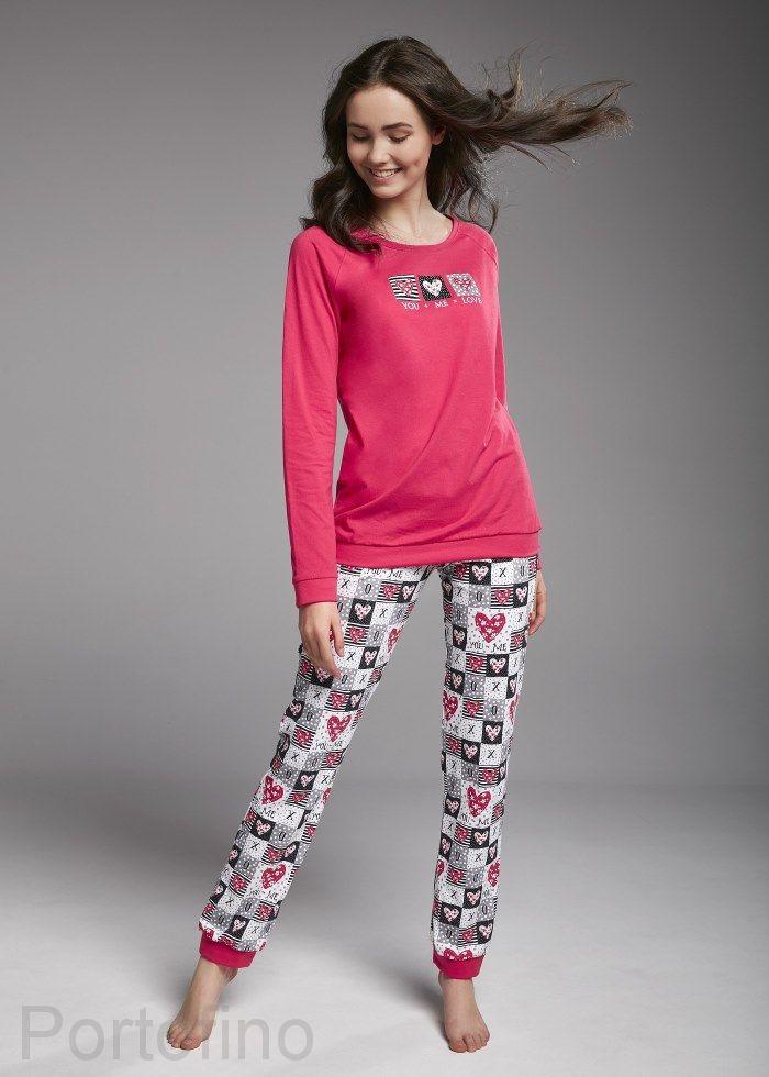 156-30 Пижама для девочек Cornette