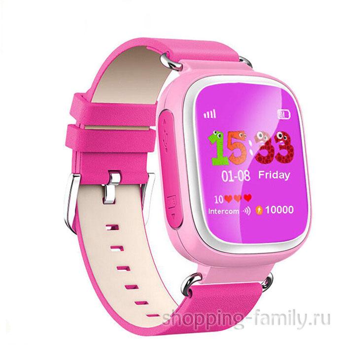 Умные детские часы с GPS Smart Baby Watch Q60S, розовый