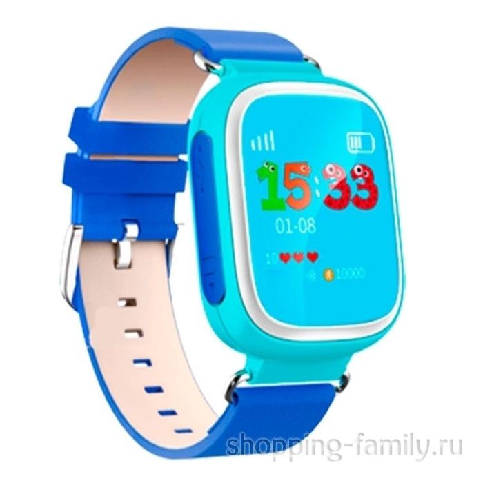 Умные детские часы с GPS Smart Baby Watch Q60S, голубой