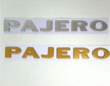 Логотип PAJERO на кузов, выбор цвета