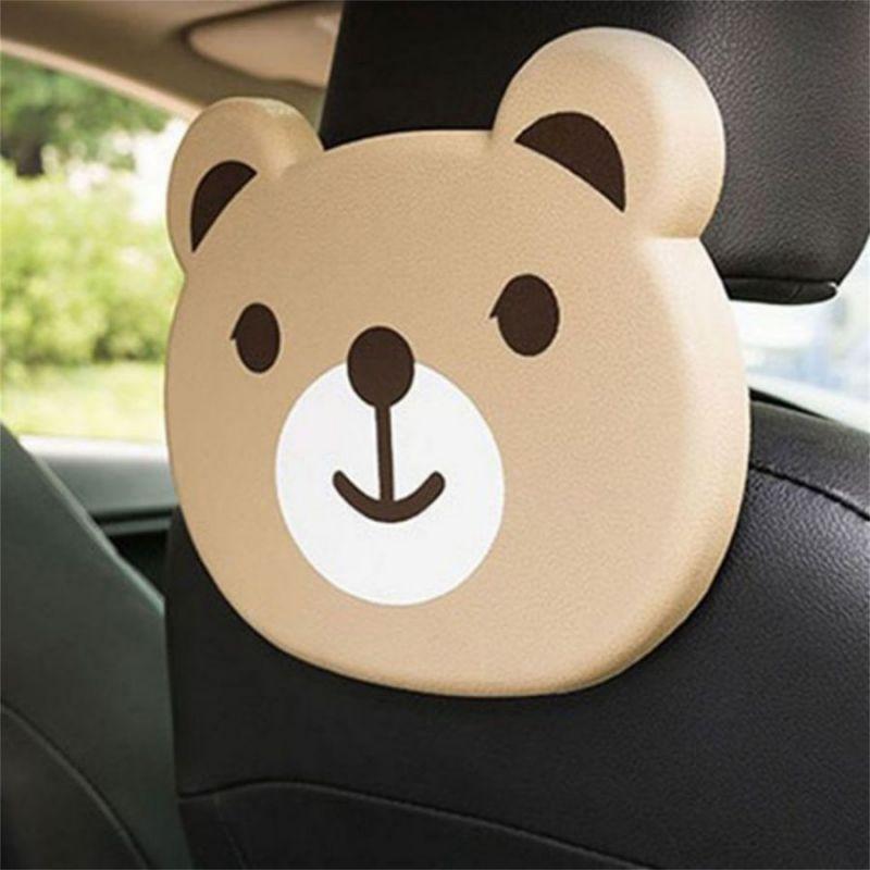 Детский столик для подголовника автомобиля CARTOON CAR TRAY TABLE, медвежонок