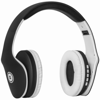 Беспроводная гарнитура FreeMotion B525 черный+белый, Bluetooth