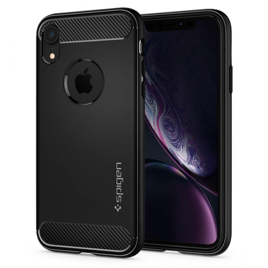 Чехол SGP Spigen Rugged Armor для iPhone XR черный