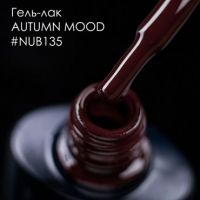Гель-лак NUB 135 AUTUMN MOOD, 8 мл